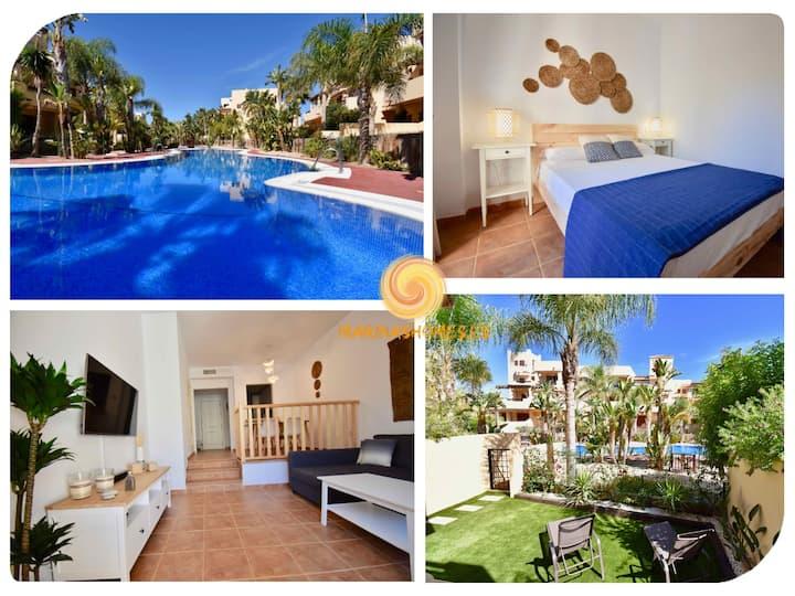 Bahía Marinas - Tu casita en la playa con jardín!