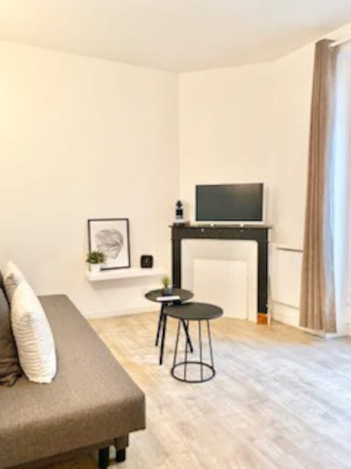Studio cosy à deux pas de Paris