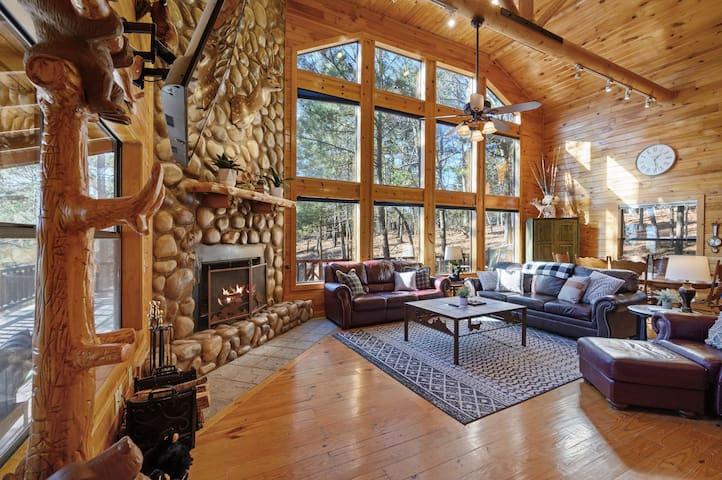 Massive windows bring the nature in!