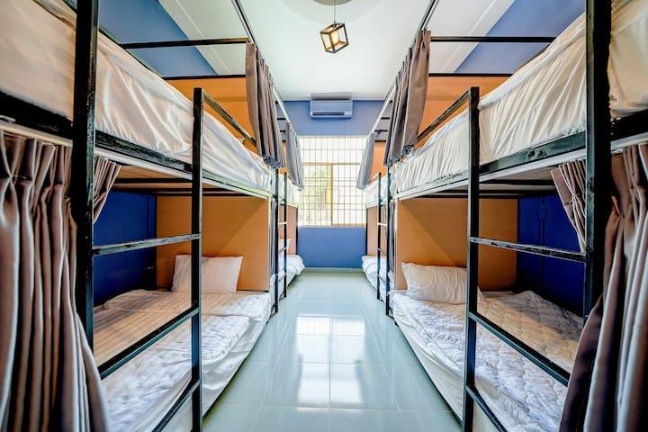 Dorm Single Bed - 2 Minutes to Night Market
