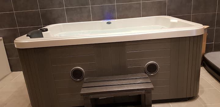 Logement Privatif : Jaccuzzi, sauna, douche,...