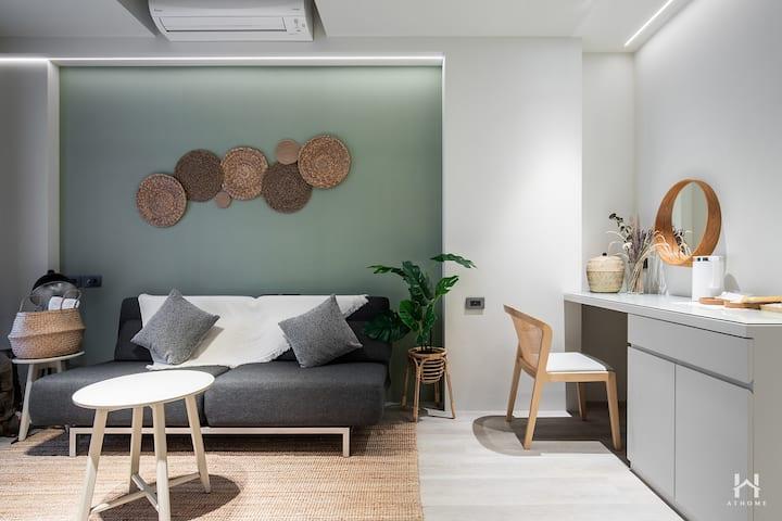 Coming Home Apartment 設計體驗空間 (森林房)