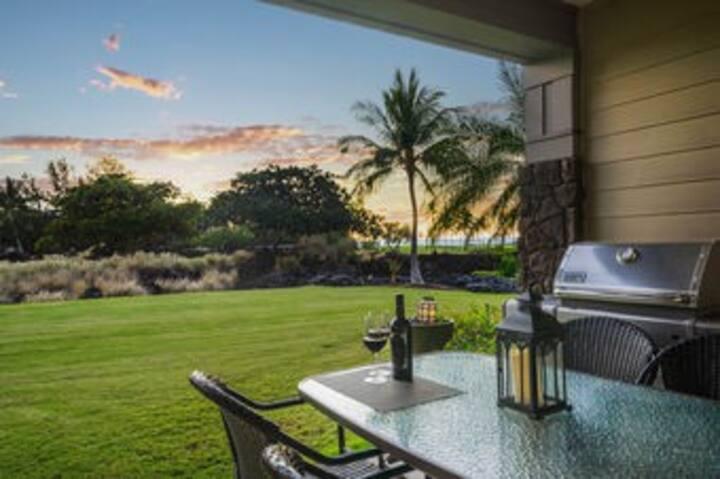 Halii Kai Unit 6C 2Bd/2Ba Golf View by Outrigger