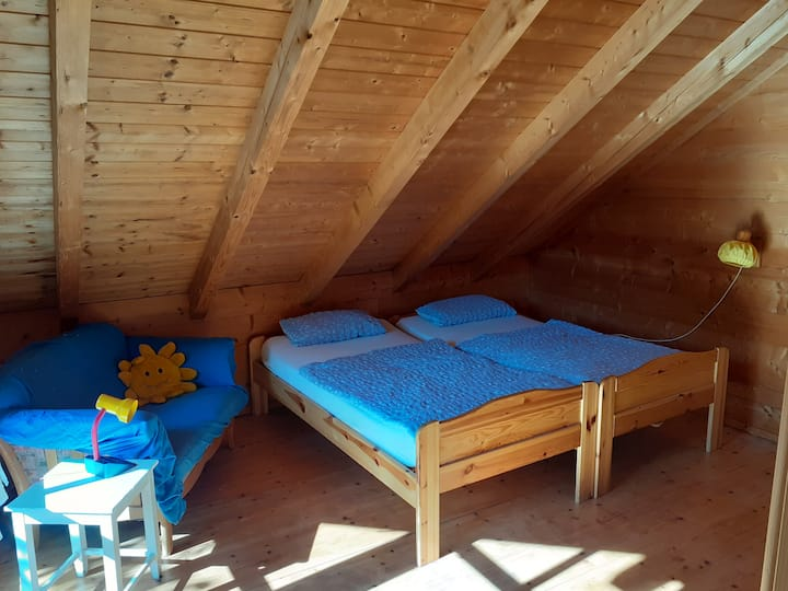 Naturnahes Wohnen im Holzhaus