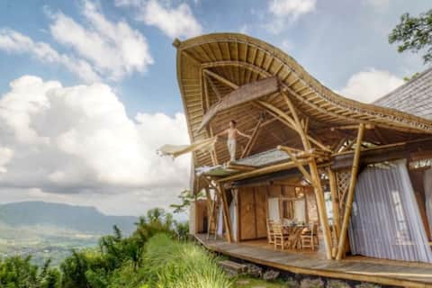 LAPUTA BALI - The Bamboo Castle in the Sky