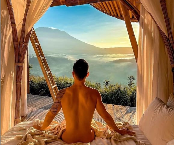 Morning view from bedroom#1.   No photoshopped. @darjanki_lee