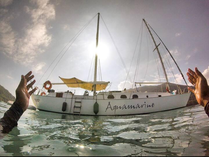 Veleiro Aquamarine - Ubatuba