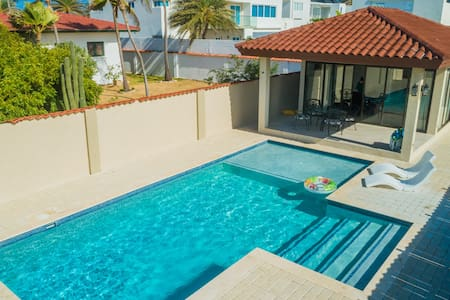 NEW! 2 min walk 2 Beach - One BR w/ Private Pool