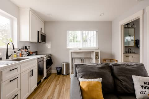 New Modern Detached 1br Guest House, close to DT