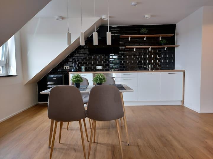 Neubau Moderne 3-Zimmer Dachgeschosswohnung