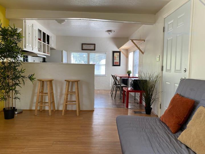 Wonderfully large  2 bedroom trailer home