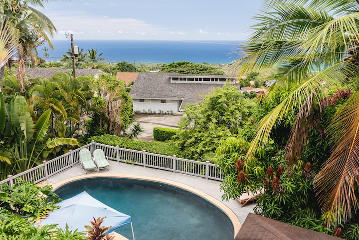 Classic Kona 🤙🏻 \\ Epic Ocean View 🌊 \\ Pool 🏊