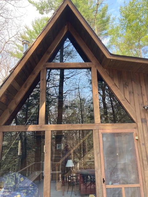 Kerhonkson A-frame Catskills Cabin