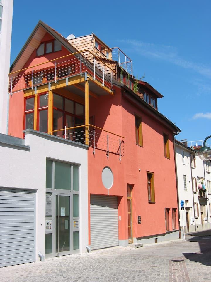 City-Apartment, 1-2 Personen, zentral, Balkon, TG
