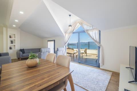 Fethiye City Aparts, Penthouse&Terrace&Seaview
