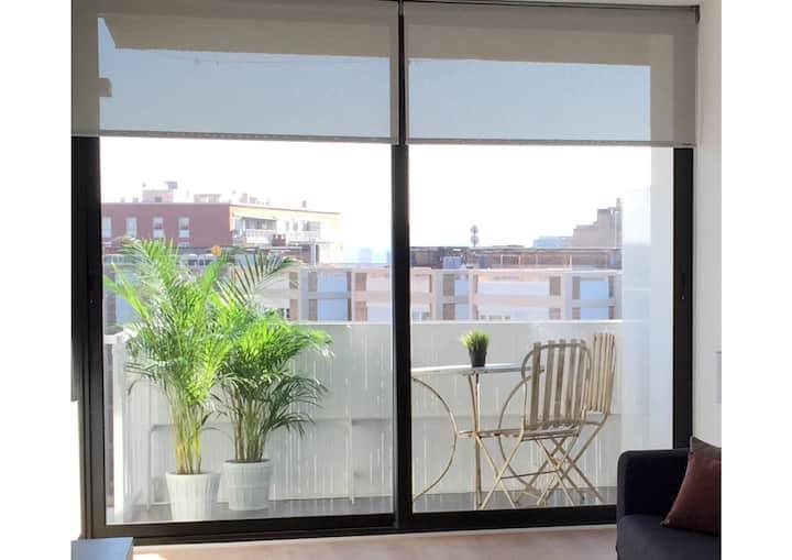 Apartment con terraza  Barcelona Centro  Diagonal