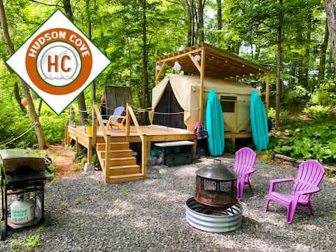 Waterfront Glamping Oasis With Kayaks Included!