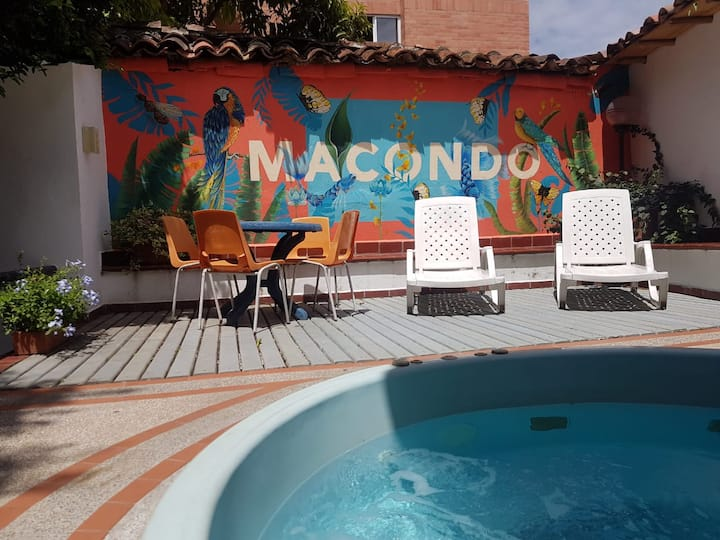 Casa Macondo - Garden & Jacuzzi - Time to relax