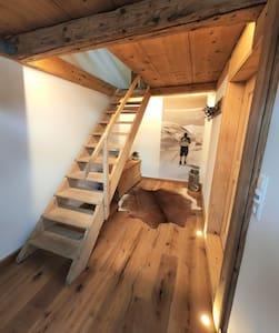 Ferienwohnung in Bauernhaus direkt am Alpenrand
