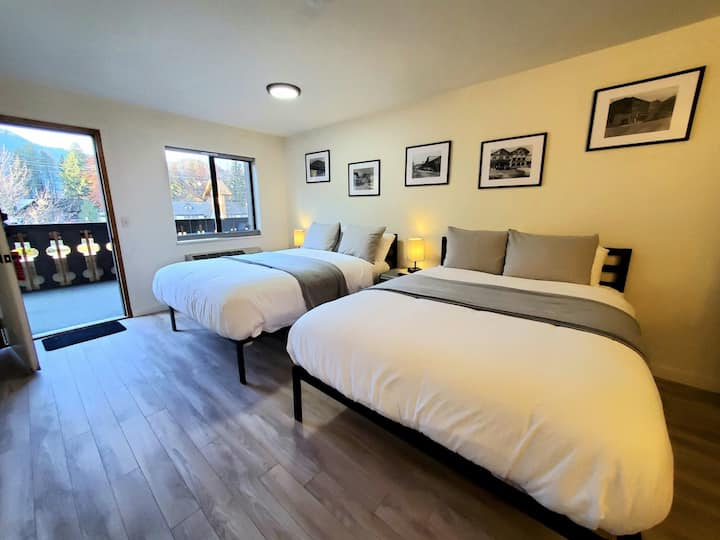 BRAND NEW Rooms in Town, 2Q Beds, Pets / Room 421