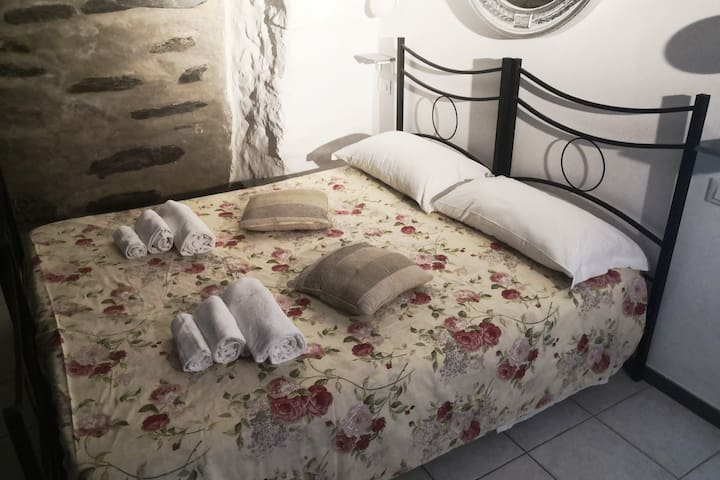 Questo letto può essere preparato per una coppia o come 2 letti singoli