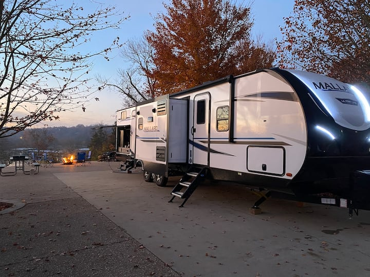 Why rent a room when you can rent an entire RV??