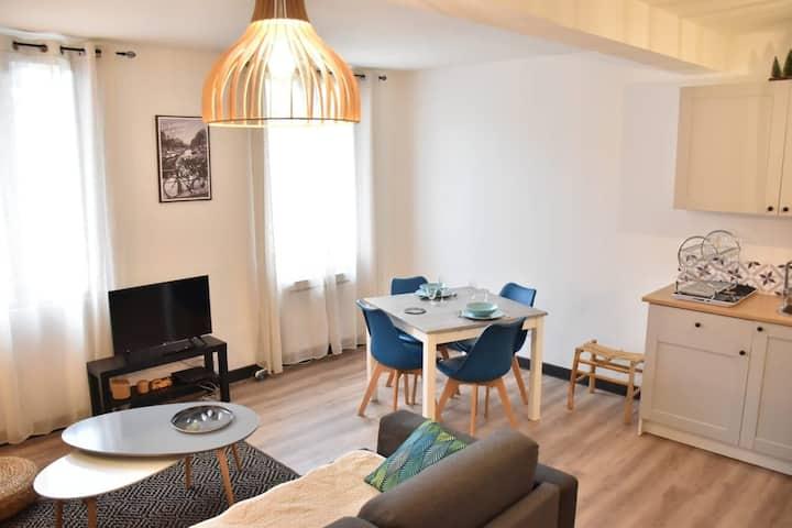 Appartement cosy à Castillon.