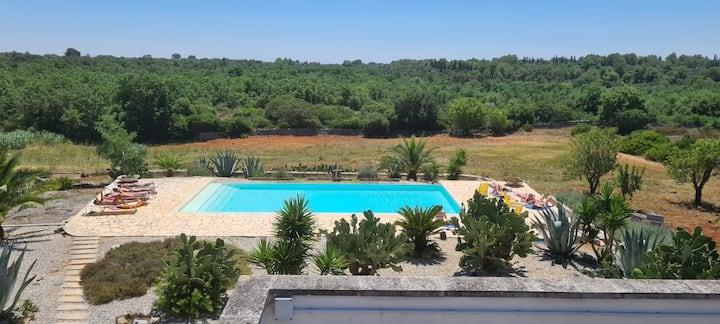 Masseria Martucci con piscina - Casa Lavanda