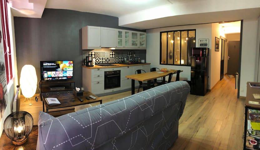 superbe appart 45 m2 au coeur de Semur en Auxois