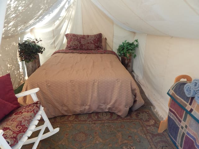Glamping at The Family Ranch