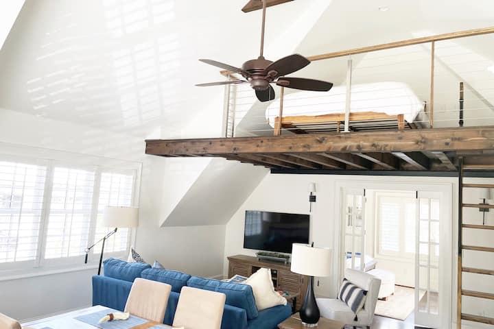Brand New Guest House - VaHi/Midtown - 1 BDRM+Loft