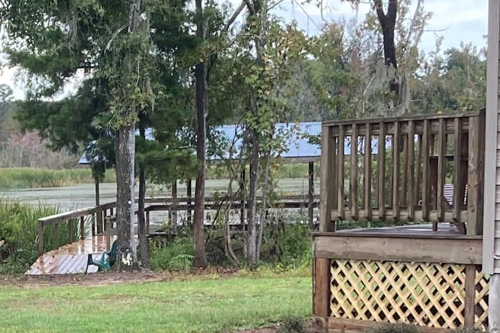 Cattail Cove:  Boating, Bonfires, &  Barbeques