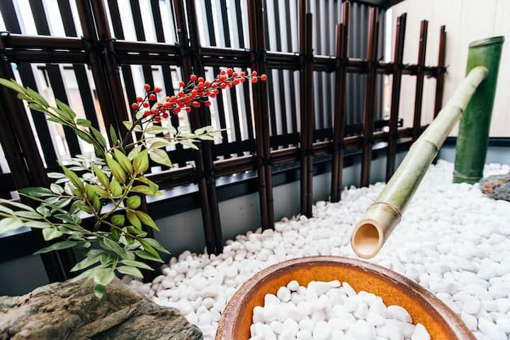 京都楓ホテル鴨川前201 各部屋バスルーム付き ベランダ付き畳部屋