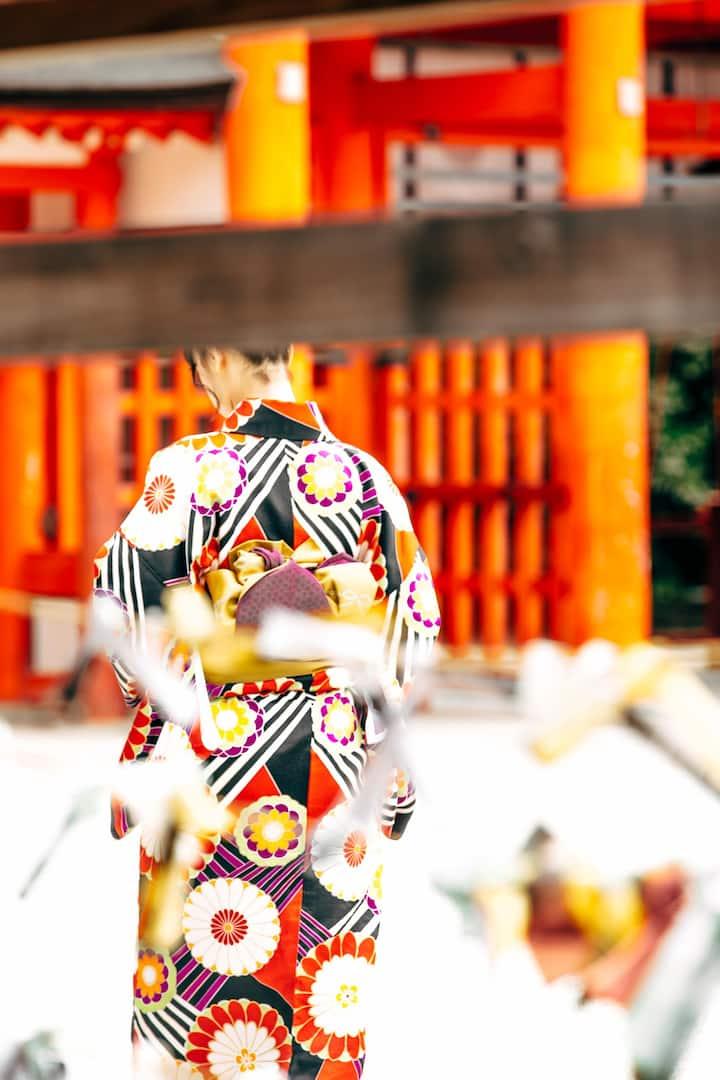 京都楓ホテル鴨川101 出町柳駅歩く1分 バスルーム付き、畳部屋 3名まで同一料金