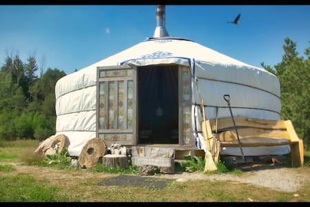 Off The Grid  Mongolian Yurt Living