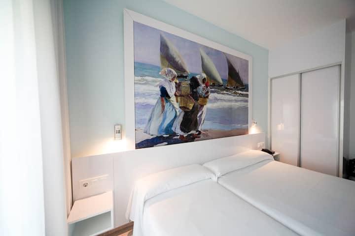 Sol Playa, Habitación doble primera linea de playa