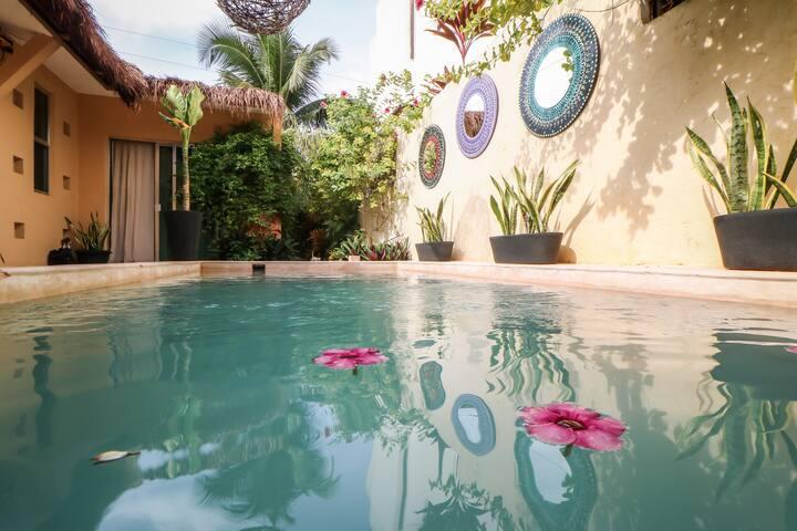 Cozy apartment in Tulum with Pool !