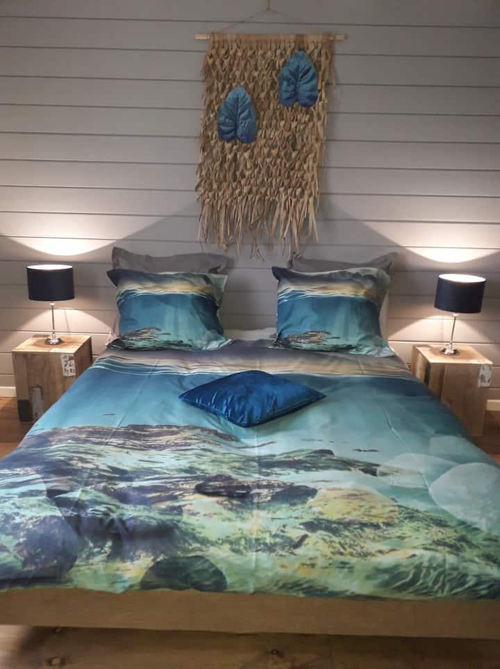 Sfeervolle 'Jamaica' kamer en jacuzzi in Diest