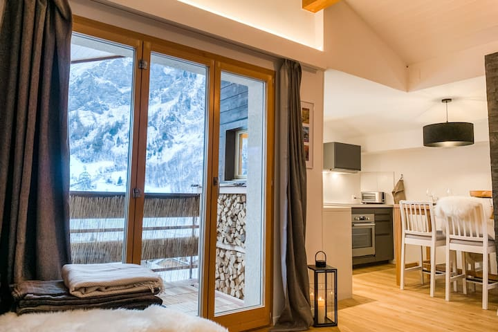 Beautiful renovated & sunny flat in Leukerbad