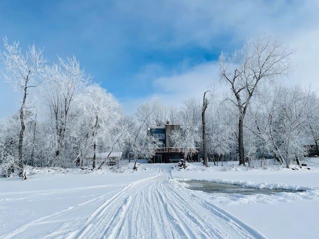Pine City Escape – Eco-Friendly on Pokegama Lake
