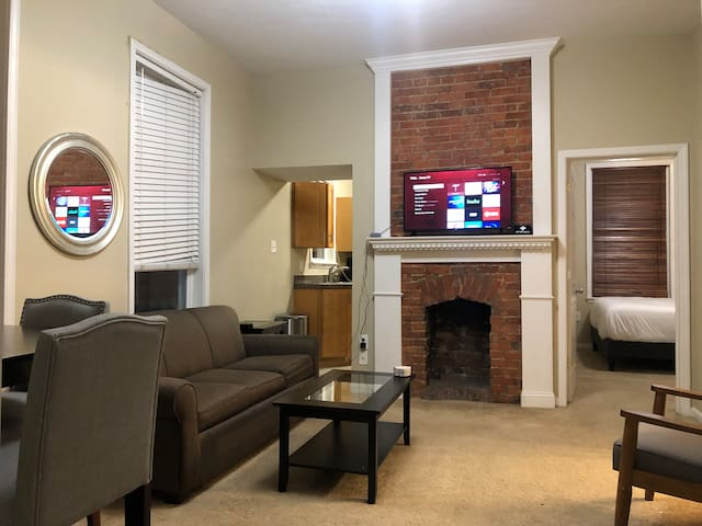Modern 2BR⚡️Sleeps 5❤️King bed🔥CMU/Pitt🌟Pet Friendly