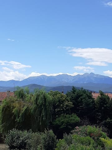 Entre mer et montagne avec vue sur les Pyrénées
