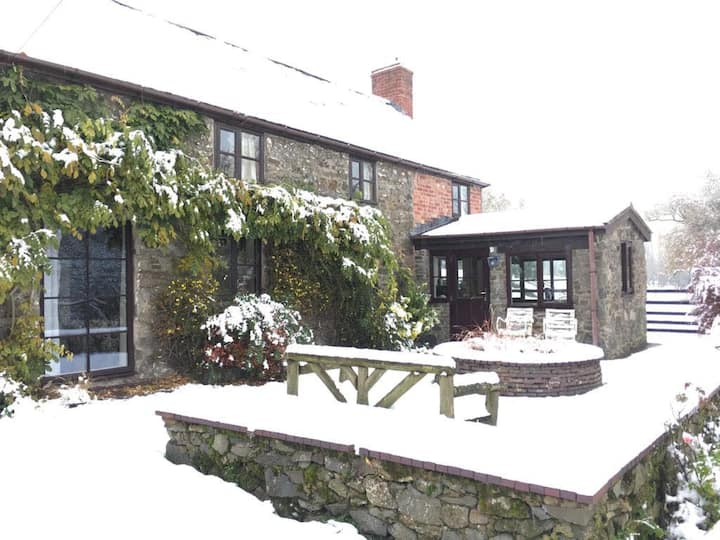 Cefn Farm Cottage, as seen in The Guardian