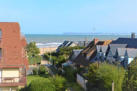 Appartement neuf, vue sur mer, proche Deauville