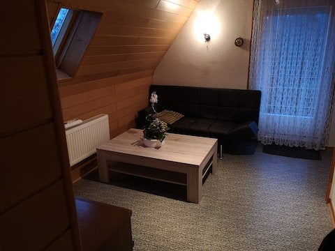 Traditionelles Zimmer in der Siegener Hengsbach.