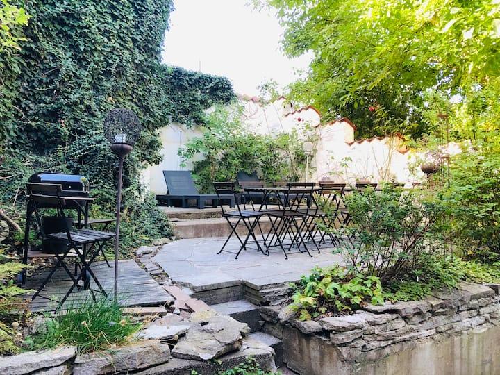 Villa Trumpetaren - mitt i Visbys hjärta