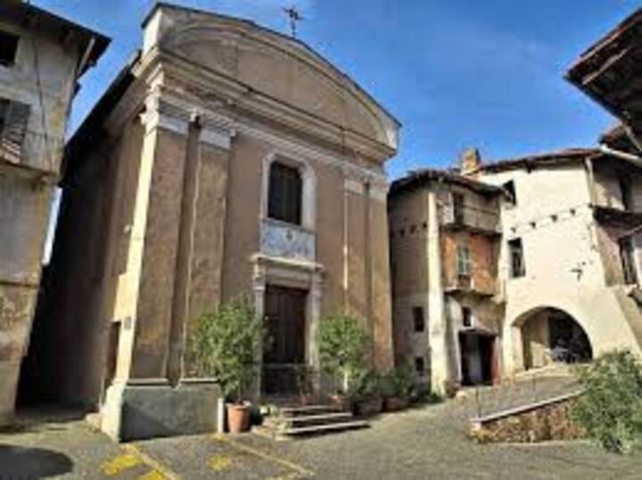 Borgo Antico di  Masserano tra laghi e monti