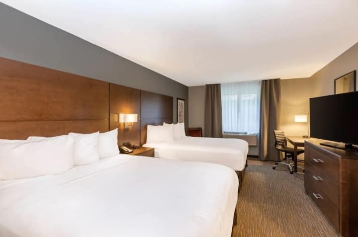 Newly Remodeled Hotel Room