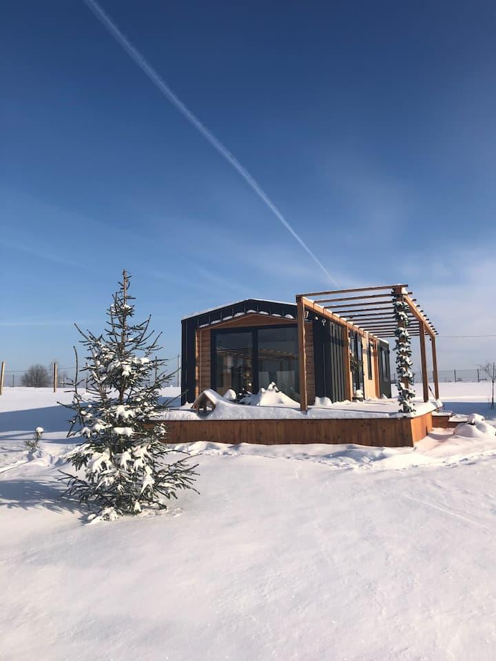 Luksusowe domki z widokiem na jezioro