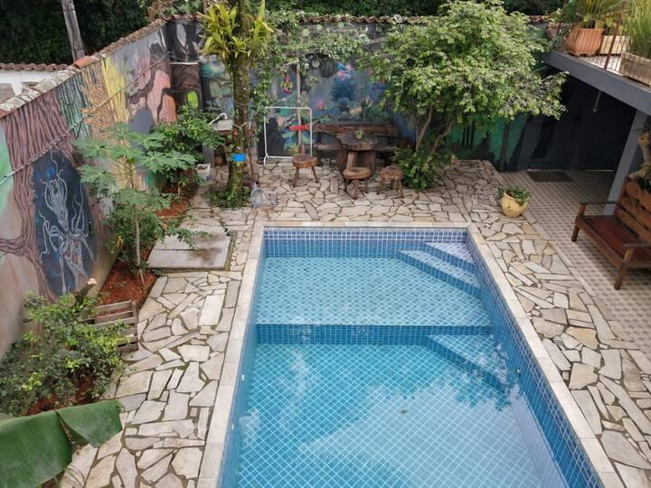 El Jardin Ap 03 suite para 6 pessoas